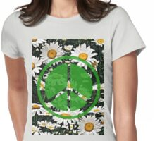 Hippie Days Womens Fitted T-Shirt