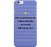 Yellow Umbrella iPhone Case/Skin