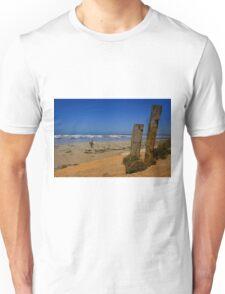 An Australian Surfing Beach Unisex T-Shirt