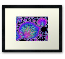 Lost in the Echo Under the Sea Framed Print