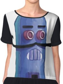 Weenie Hut Jr. Robot Chiffon Top