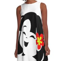 Laughing Hula Baby A-Line Dress