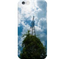 Old HAM Radio Antenna iPhone Case/Skin