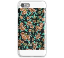 Flora Hipster Button Up iPhone Case/Skin