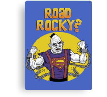Road Rocky! Canvas Print