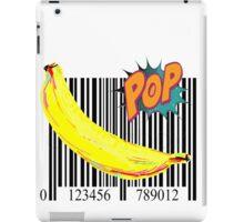 Pop Barcode Banana by American Jank Brand iPad Case/Skin