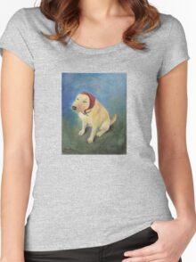 The Babushka Dog Women's Fitted Scoop T-Shirt