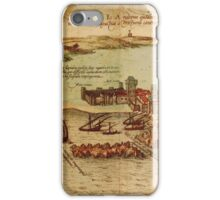Asilah Vintage map.Geography Morocco ,city view,building,political,Lithography,historical fashion,geo design,Cartography,Country,Science,history,urban iPhone Case/Skin