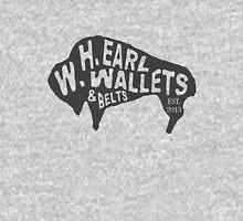 WH Earl Bison Logo - Dark Gray Unisex T-Shirt