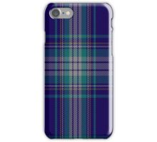 02317 Damson Fashion Tartan  iPhone Case/Skin