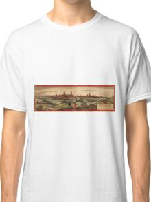 Arras Vintage map.Geography France ,city view,building,political,Lithography,historical fashion,geo design,Cartography,Country,Science,history,urban Classic T-Shirt