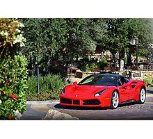 Ferrari 488 Photographic Print