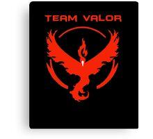 Pokemon Go: Team Valor Canvas Print