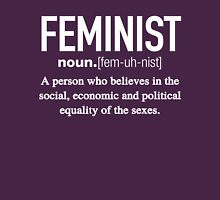 Feminist Definition T-Shirt Womens Fitted T-Shirt