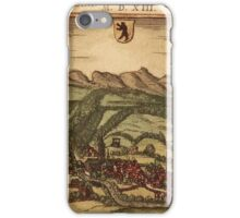 Appenzell Vintage map.Geography Switzerland ,city view,building,political,Lithography,historical fashion,geo design,Cartography,Country,Science,history,urban iPhone Case/Skin