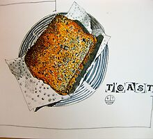 Toast by Evelyn Bach