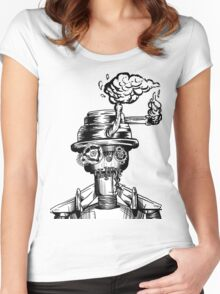 Oil and Rust Women's Fitted Scoop T-Shirt