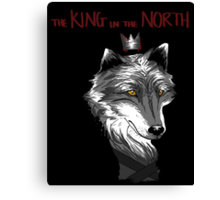 The King Who Lost The North Canvas Print
