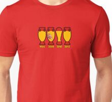 Spain World Cup and European Championship Trophy Cabinet Unisex T-Shirt