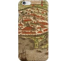 Alexandria Vintage map.Geography Egypt ,city view,building,political,Lithography,historical fashion,geo design,Cartography,Country,Science,history,urban iPhone Case/Skin
