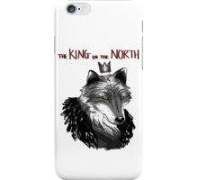 The King Who Lost The North iPhone Case/Skin