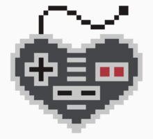 8 Bit Love One Piece - Short Sleeve