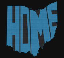 Ohio HOME state design Kids Tee