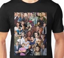 Chris Hemsworth Collage  Unisex T-Shirt