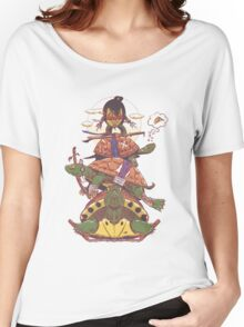Ordinary Ninja Turtles  Women's Relaxed Fit T-Shirt