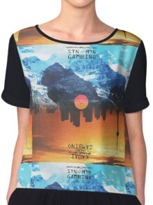 Childish Gambino - STN MTN and Kauai Chiffon Top