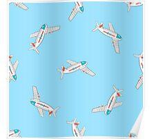 AirplanePattern2 Poster