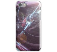 Vintage car with sun reflections iPhone Case/Skin