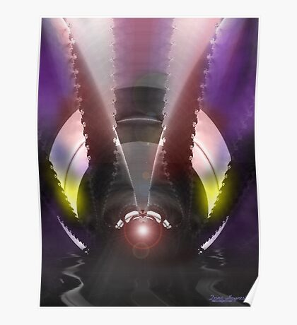 Fly Dragon Poster