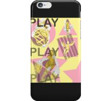 Play. (B) iPhone Case/Skin