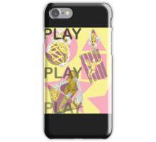 Play. (B) iPhone Case/Skin