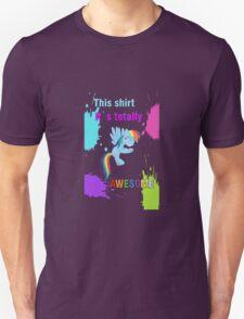 Rainbow Dash Awesome Shirt Unisex T-Shirt