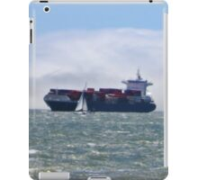 San Francisco Freighter coming in iPad Case/Skin