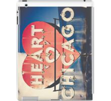 Heart of Chicago iPad Case/Skin
