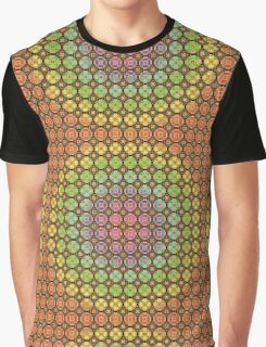 pattern with multicolor  tiles Graphic T-Shirt