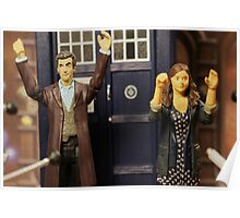"""""""Out of the frying pan and into the fire eh Clara?"""" Poster"""