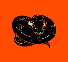 Curled Up Ball Python Hydria Motif Unisex T-Shirt