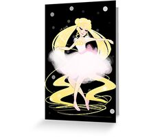 Moonlight Pirouette Greeting Card
