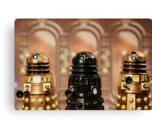 """The Daleks reign supreme!"" Canvas Print"