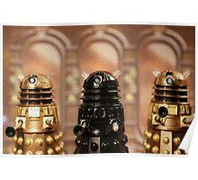 """The Daleks reign supreme!"" Poster"