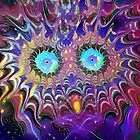 Cosmic Owl by Mary Smiths