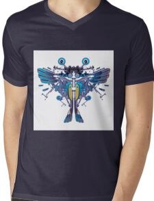 Birdterfly rider Mens V-Neck T-Shirt