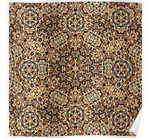 Colorful ethnic patterned Poster