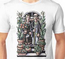 American Gothic Gardeners Unisex T-Shirt