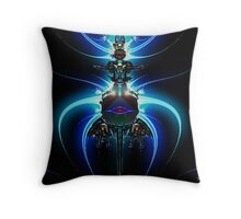 Jet Pack Throw Pillow