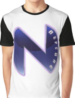 Hyperdimension Neptunia Neptune Logo Graphic T-Shirt